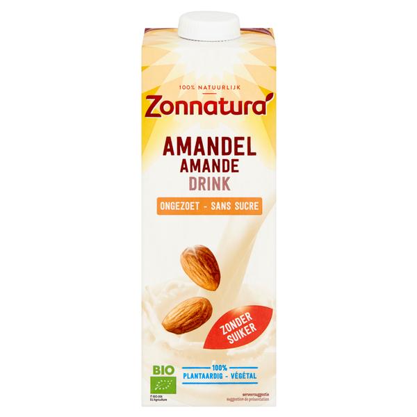 Amandel Ongezoet drink