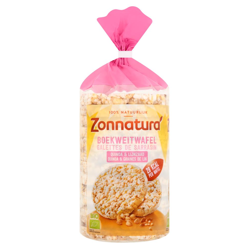 Boekweitwafel met Quinoa & Lijnzaad