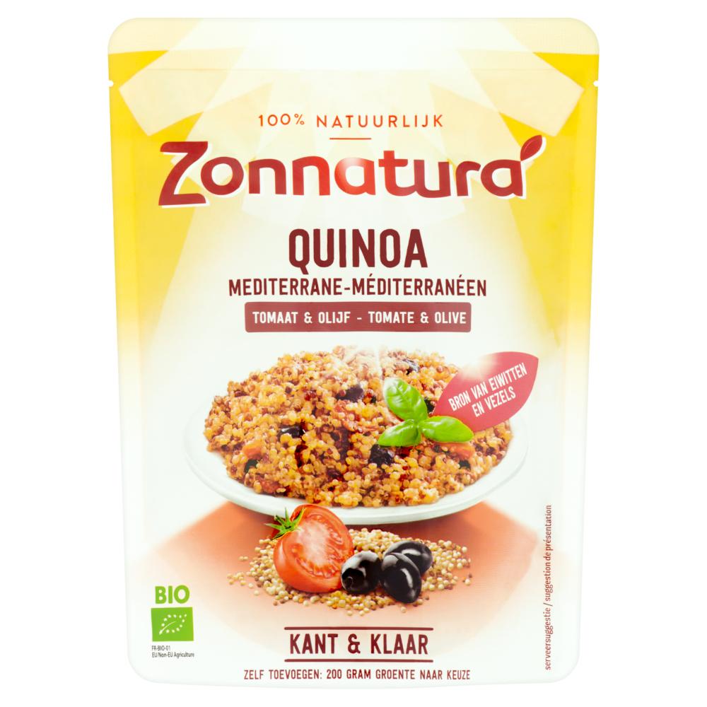 Quinoa met Tomaat en Olijf